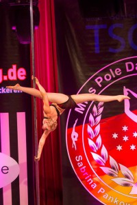Miss Pole dance Germany 2015